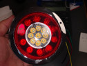 Lampa stop spate led rotunde