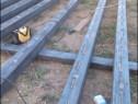 Executăm ferme hale grajduri garaje case structura metalica