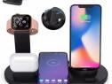 Dock Incarcator Wireless Telefon Iphone Samsung Huawei Ceas