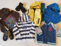 Lot haine marimea 104 (bluze, roling, vesta)