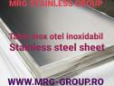 Tabla inox mata 0.8x1000x2000mm AISI 304 304L 1.4301 1.4307