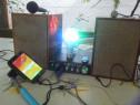Instalatie Amplificator de putere stereo+Rradio cu ceas.