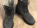 Ghete piele naturala intoarsa imblanite miarma shoes