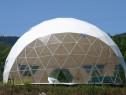 Cort igloo geodezic transparent ,80 mp,Ekodome expo,showroom