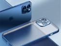 Iphone 12 PRO - Husa Luxury Din Silicon Transparent Margine