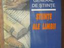 Dictionar general de stiinte. Stiinte ale limbii - 1997