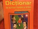 Dictionar de scriitori romani si straini