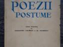 Carte veche mihai eminescu poezii postume 1940
