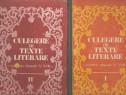 Culegere de texte literare cl. V-VIII 2 vol.