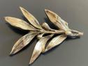 Brosa Argint 23 gr Frunza de Maslin