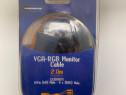Cablu VGA-RGB Monitor 2m