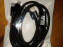 Cablu usb cu trei mufe încărcare lightning,usb Cu, micro usb