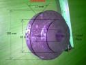 Fulie metal dubla 100-60mm int 20mm NOUA