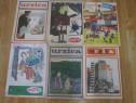 18 reviste umoristice Urzica 1971-1972-1973 de colectie-ief