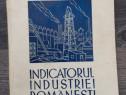 Carte veche indicatorul industriei romanesti 1941