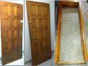Usa lemn masiv stejar lacuit toc sipci lateral 2 yale clanta