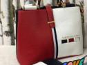 Set Tommy Hilfiger new model, geanta+portofel