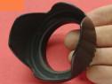 Parasolar obiectiv tip petala prindere filet - 52 mm si 58mm