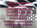 Tabla perforata gaurita sita expandata otel inox aluminiu
