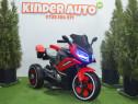 Motocicleta electric cu 3 roti BJ618 2x30W cu Music player
