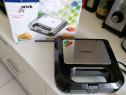 Sandwichmaker Heinner nou nouț produs de calitate la cutie.