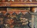 Cuier rustic pictat