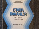 Istoria romanilor de la 1821 pana in 1989 -manea, teodoresu