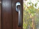 Maner Usa Balcon (fereastra) marca Hoppe gri metalizat