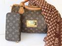 Set Louis Vuitton (geanta+portofel)-France