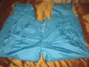 Pantaloni de trening fas culoare albastru