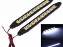Lumini de zi DRL COB flexibile FCS10120 12V.