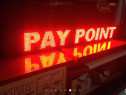 Reclama reclame led programabile rosu alb - depozit