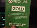 Xbox live gold 3/12luni (consola xbox one , s, x)