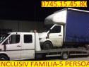 Tractari auto / asistenta rutiera / transport marfa / platfo