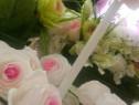 Decor nunta flori hartie