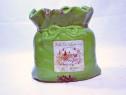 Ghiveci si vaza model sac - verde