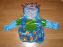 Costum carnaval serbare dinozaur pentru copii de 6-12 luni
