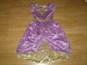 Costum serbare regina printesa pentru copii de 4-5-6 ani