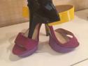 Sandale multicolore