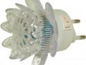 Lampa de veghe, cu 4 led-uri, lumina galbena-113487