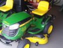 Tractoraș de grădină (mașină de tuns iarbă) John Deere x 165