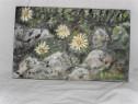 Flori 31-pictura ulei pe placaj;