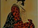 Pictura de inspiratie Japoneza unicat din stoc si la comanda