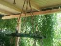 Candelabru rustic