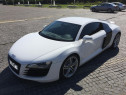 Audi r8  alb 508cp bang&olufsen evacuare akrapovi