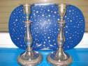 321a-2 Sfesnice Highlands stil Louis 16  silverplatet placat