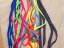 Sireturi colorate 120cm lungime