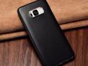 Husa slim usoara piele naturala miel Xoomz Samsung S8, negru