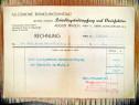Act vechi-proiect Lege-Rechnung August Prasch Wien 1946.