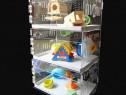 Colivie Hamsteri transparent din plexic